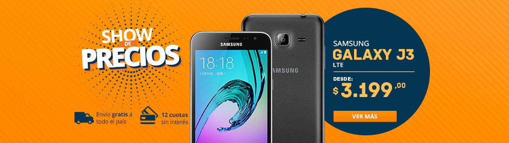 Samsung Galaxy J3 2016 LTE 8GB